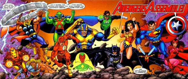 Justice League and Avengers--United